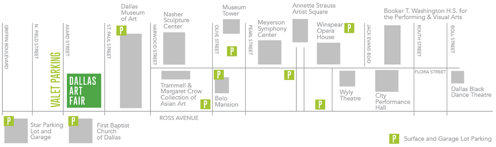 Dallas Art Fair Parking information
